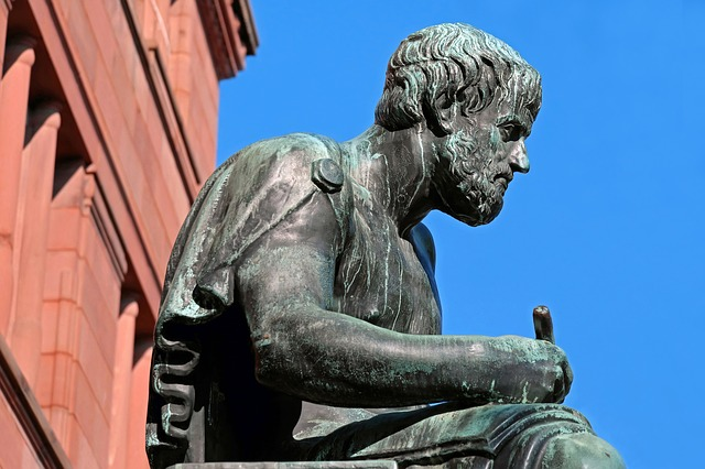 Blog: Artikelbild als Teaser – Aristoteles Skulptur