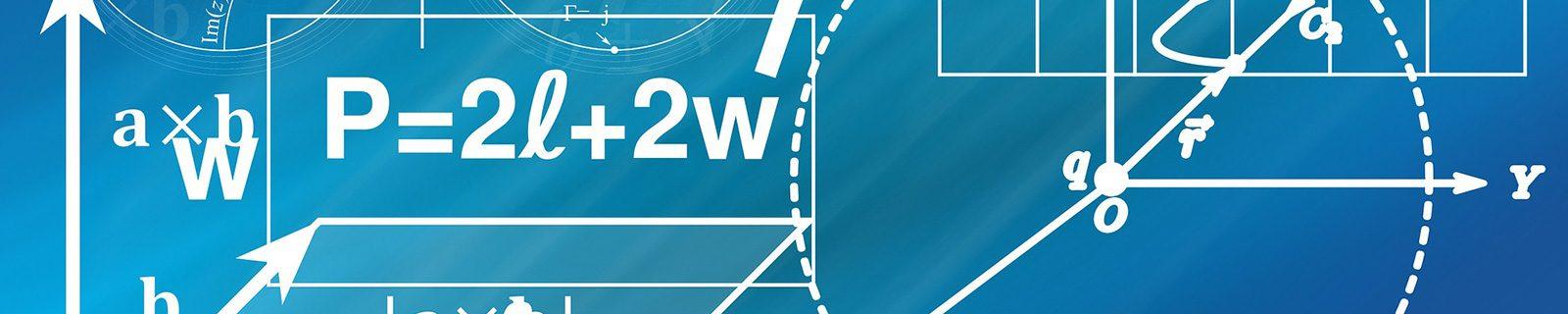 Hintergrundbild Formeln – Fachbereich Betriebswirtschaftslehre BWL