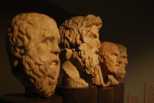 Büsten berühmter Philosophen