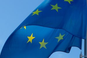 Hintergrundbild Europaflagge