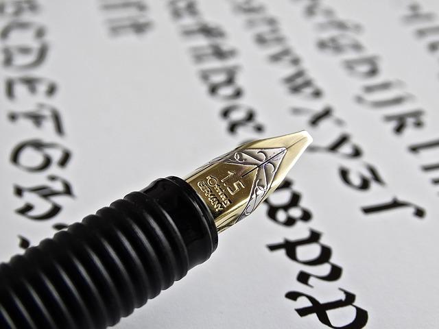 Blog: Artikelbild als Teaser – Schreibgerät