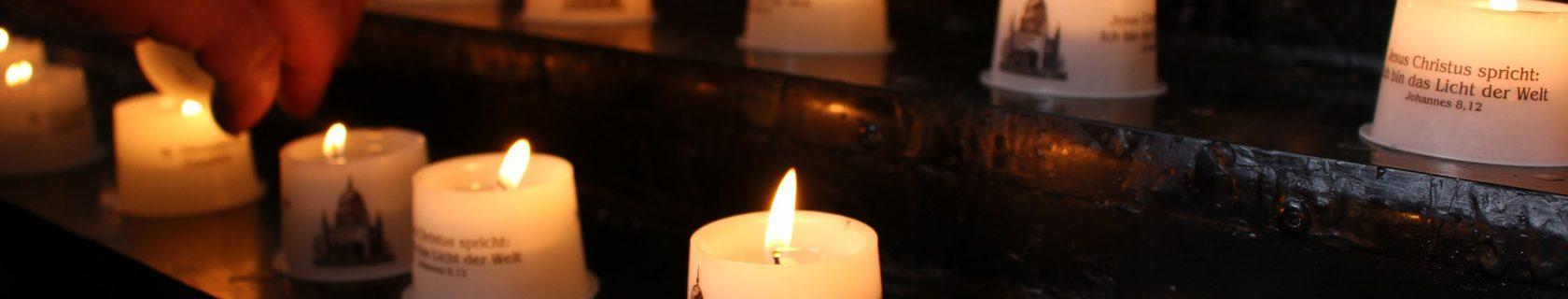 Kerzen Fürbitte Kirche